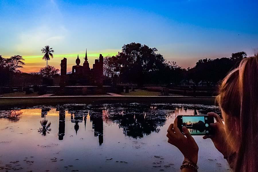 smartphone avondfotografie