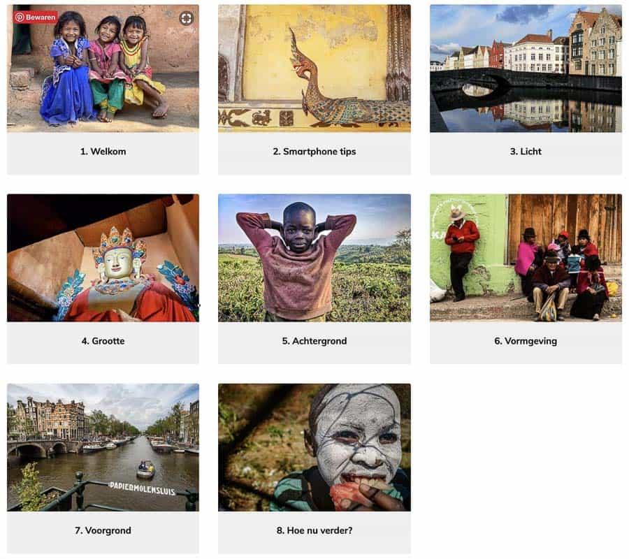 workshop smartphone fotografie Utrecht